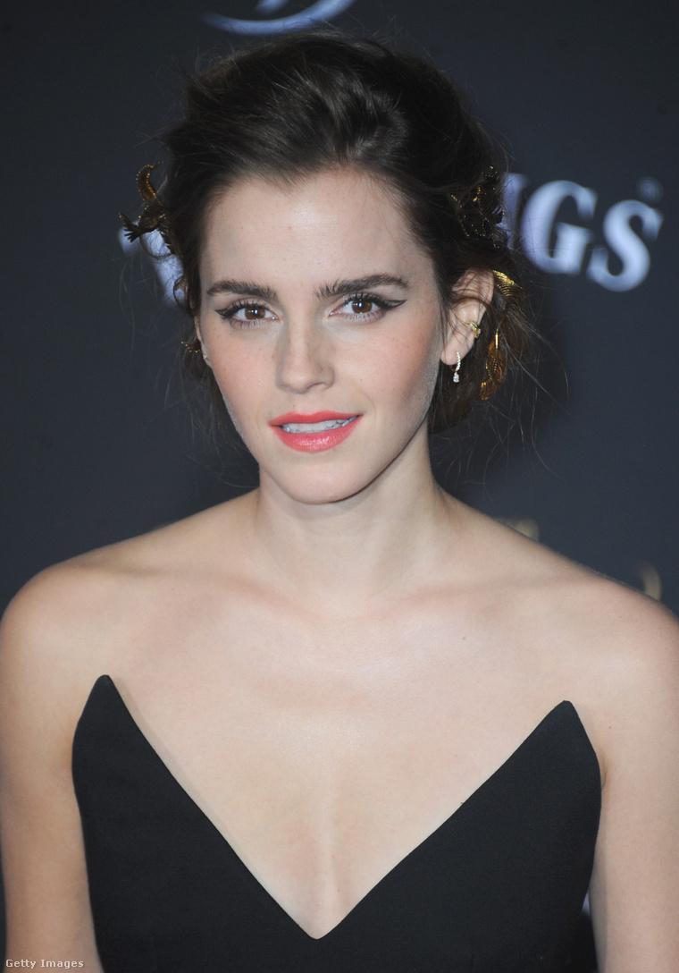 Emma Watson A szépség és a szörnyeteg Los Angeles-i premierjén, 2017. március 2-án.