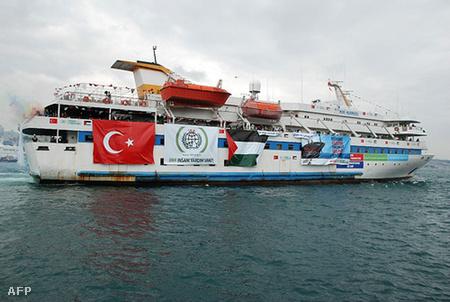 A Mavi Marmara, a flotta zászlóshajója