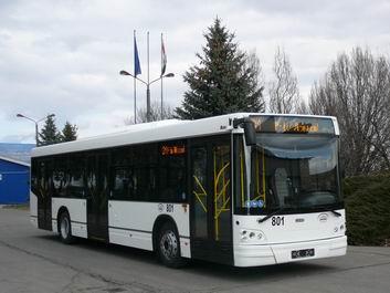 Az MJT busza Nagyváradon