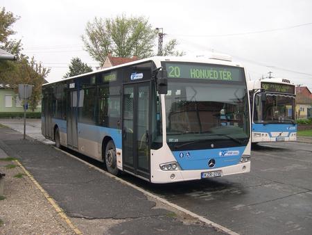 A Mercedes Conecto Szegeden