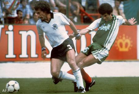 Az NSZK csapata nem vette megfelelően komolyan Algériát
