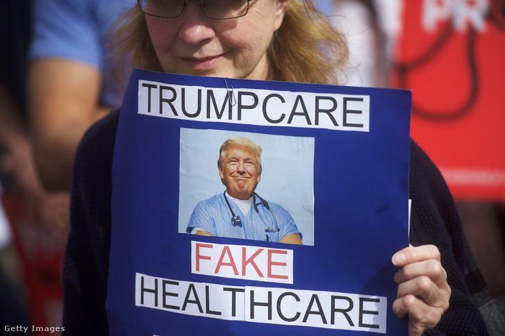 Trump törvénytervezete ellen tüntető Philadelphiában
