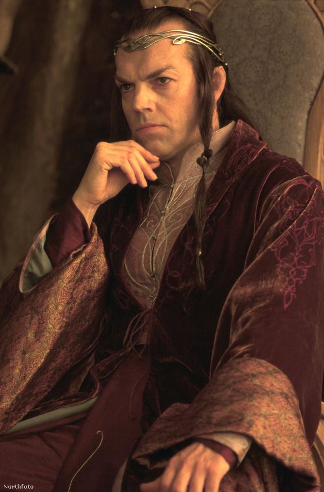 Ugyehogy?Ő Elrond, a tünde A gyűrűk urából