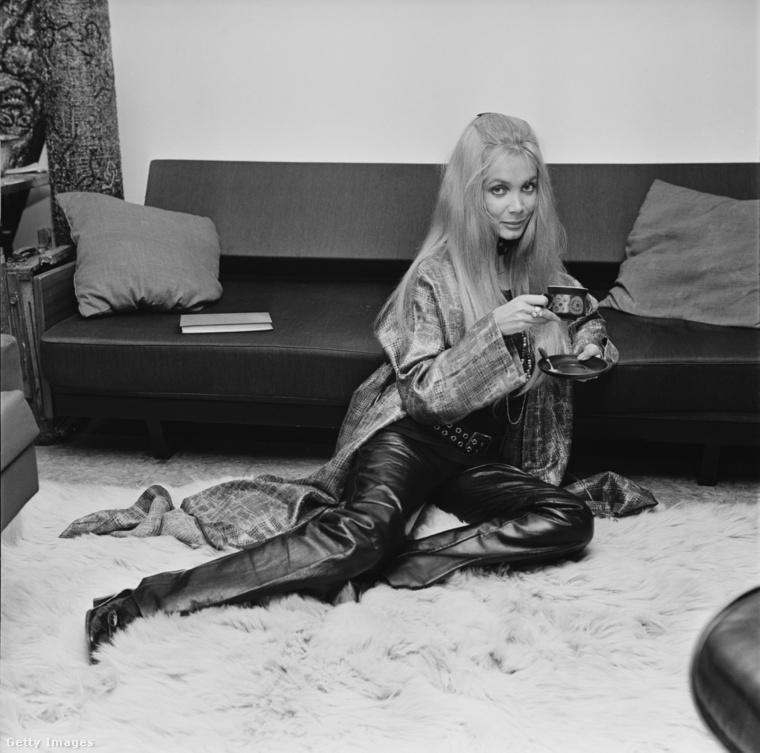 Anna Gael a hetvenes években.