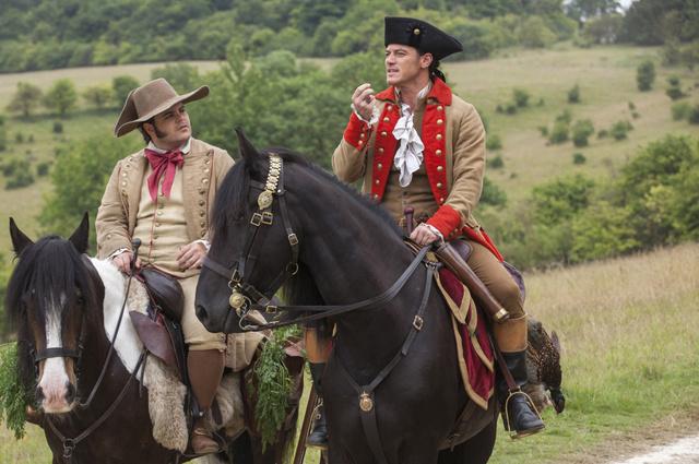 A meleg karakter Gaston fegyverhordozója (balra) lesz.