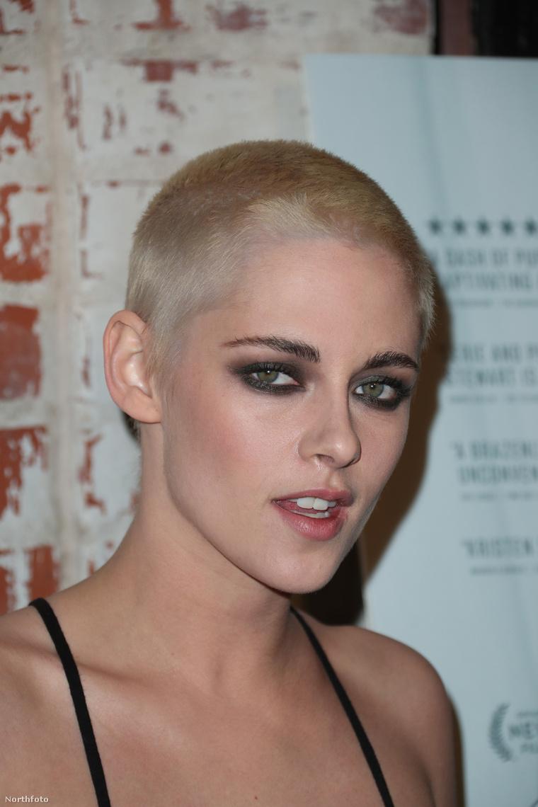 Kristen Stewart új frizurája.