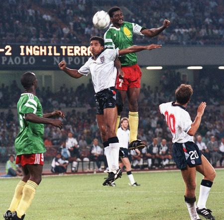 Anglia-Kamerun meccs a negyeddöntőben