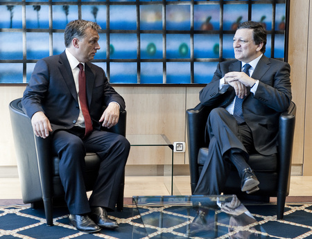 Orbán Viktor és José Manuel Barroso