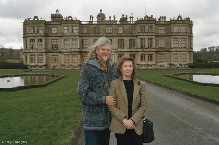 Lord Alexander Thynn és Gyarmathy Anna Abigél, vagyis Anna Thynn.