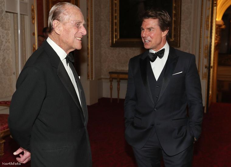 Fülöp herceg és Tom Cruise.
