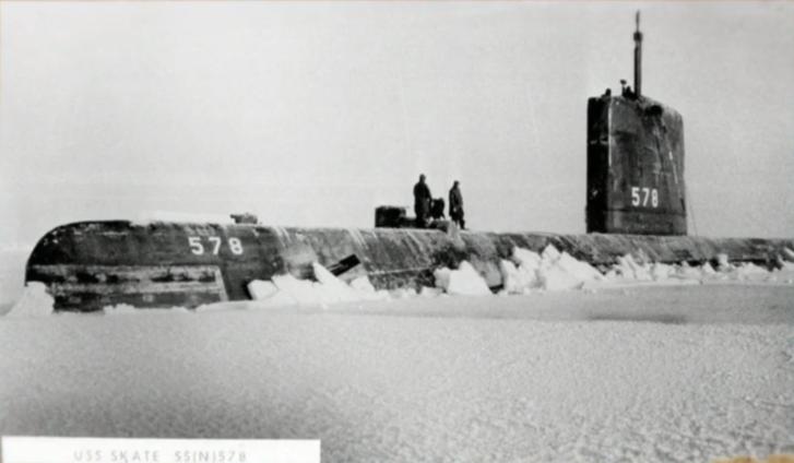 1959: a USS Skate az Északi-sarkon