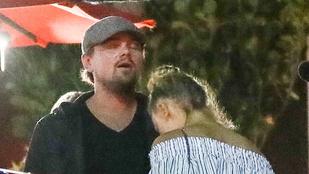 Így romantikázik Leonardo DiCaprio és Nina Agdal egy sima hétköznap este