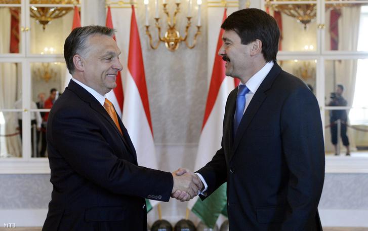 Áder János nem tesz keresztbe Orbán Viktornak