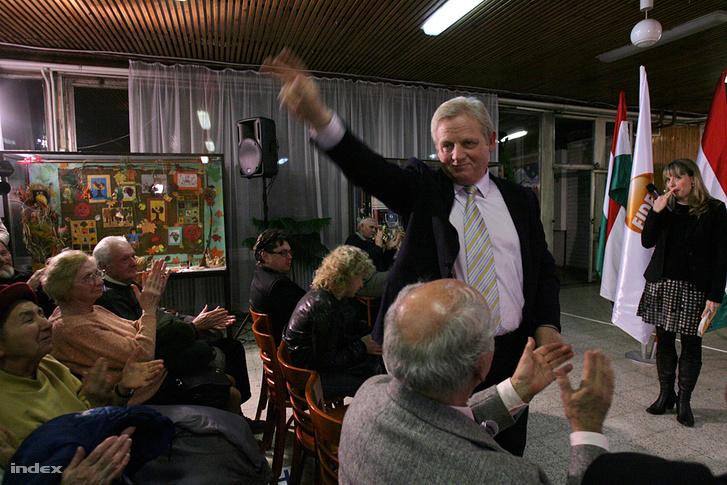 Tarlós István a 2010-es kampány hajrájában