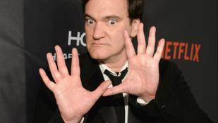 Quentin Tarantino haja elszabadult