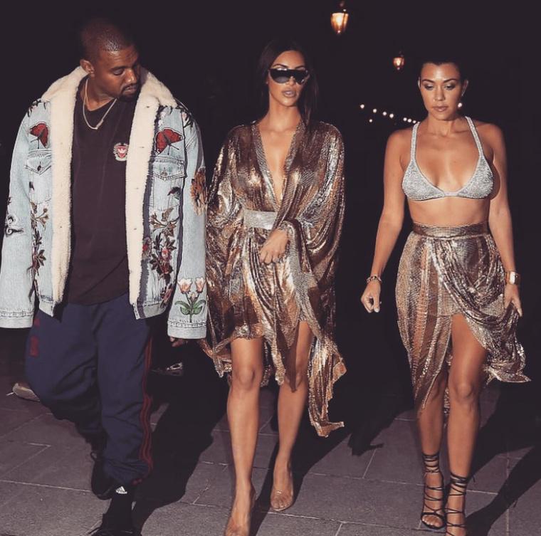 """Kanye West""""Ez egy mackóalsóhoz felvett Gucci farmer dzseki"""