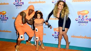 Mariah Carey akkor sem teszi el a melleit, ha gyerekkel van