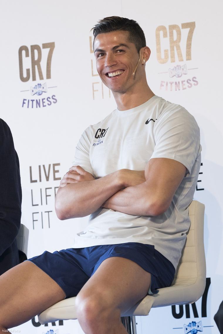 aminek Ronaldo ennyire örült.