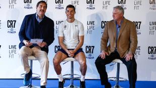 Cristiano Ronaldo egy fitneszteremmel növeli amúgy sem csekély bevételét