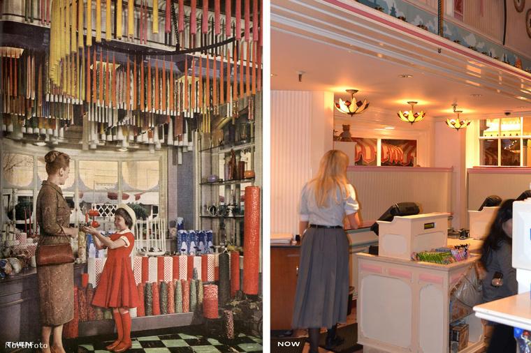 Minden évbentöbb mint tíz millióan látogatjákDisneylandet.Az épületek mellett a belső terek is sokat változtak az évek során.