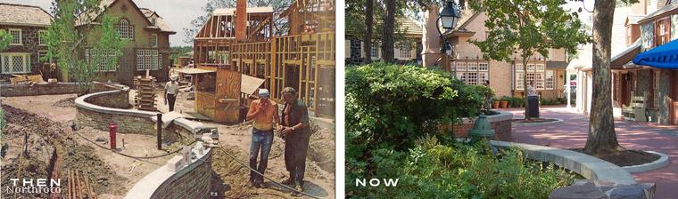 A park azért is különleges, mert tulajdonképpen egy teljes várost felépítettek Los Angeles közelében.