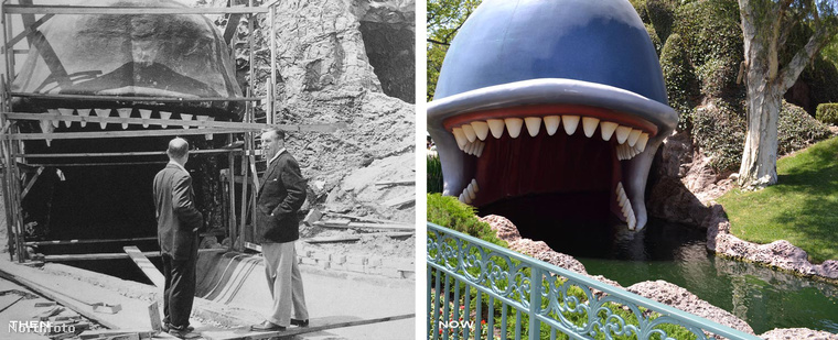 Az első Disneyland kapuit1955