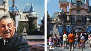 Lenyűgöző képeken nézheti meg, milyen volt Disneyland egykor és milyen ma