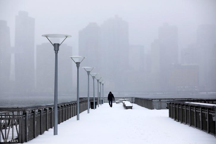 Hóvihar utáni állapotok New Yorkban