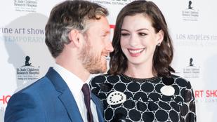 Anne Hathaway beszélt arról, hogyan változtatta meg életét a férje szerelme