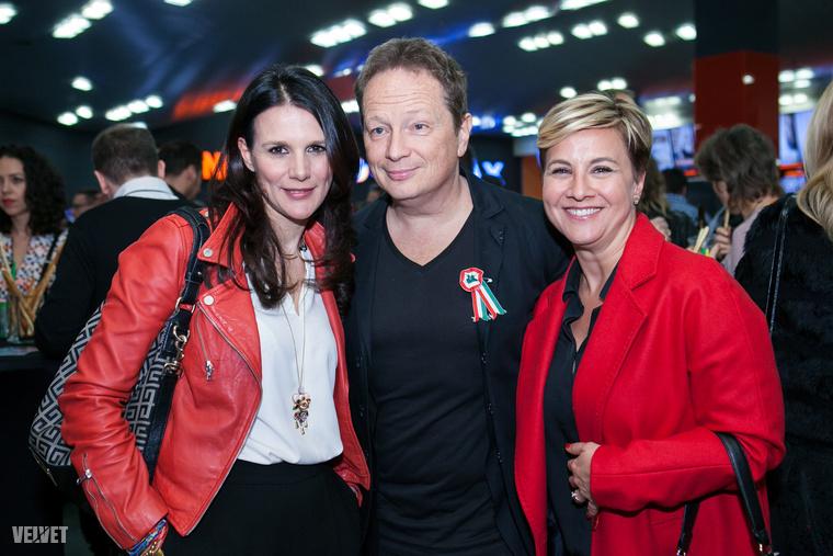 Például Geszti Péter feleségével, Ditz Edittel és Ábel Anita.