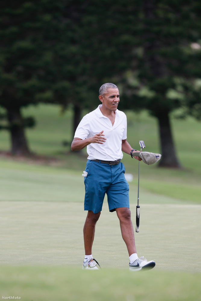 Szóval így kell lazulni, ha az ember frissen nyugdíjazott elnök
