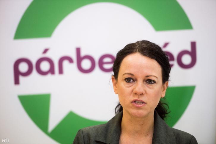 Szabó Tímea a Párbeszéd Magyarországért (PM) társelnöke