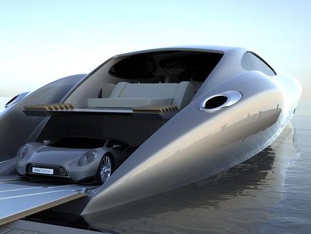 praktikus: az ajándék autó pont elfér a hajóban
