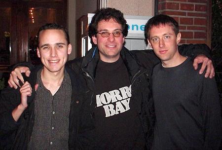 Balról jobbra: Adrian Lamo, Kevin Mitnick és Kevin Poulsen