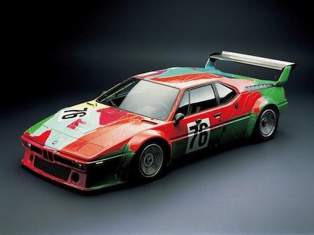 Andy Warhol BMW M1-ese