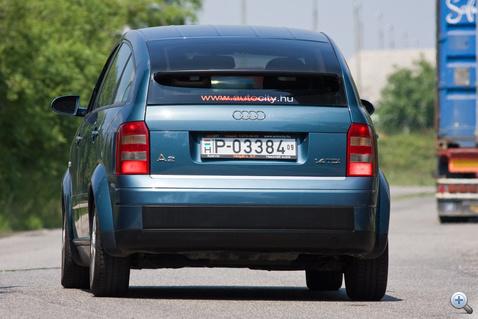 Kicsi, de nem olcsó Audi volt a tervező feladata - mindkettőt megoldotta