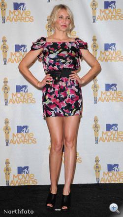 Cameron Diaz az MTV filmdíjak kiosztóján
