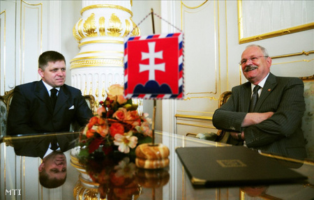 Ivan Gasparovic szlovák elnök kormányalakítási megbízást adott Ficónak