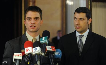 Lázár bemutatta a párt parlamenti frakciójának új sajtófőnökét, Krakkó Ákos újságírót
