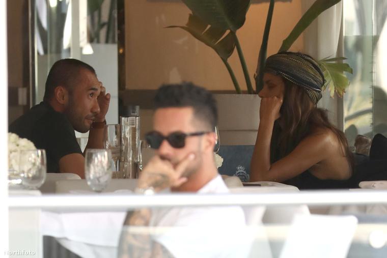 Halle Berry ezzel párhuzamosan Miamiban bonyolított le egy randinak tűnő találkozót.