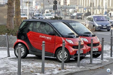 Stuttgarti Smartok közös használatra