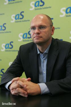 Richard Sulík (fotó: Barakonyi Szabolcs)
