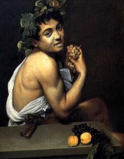 Caravaggio, Önarckép Bacchusként (1593)