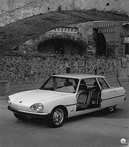 Pininfarina Sigma, az egyetlen igazán szép biztonsági autó a hatvanas évekből