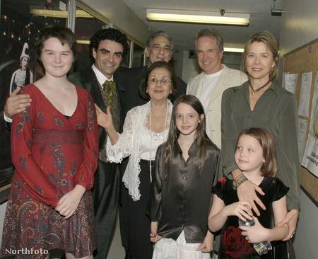 A Beatty-család 2004-ben, bal oldalon Kathlyn