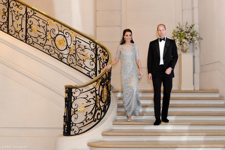 A hercegi pár ugyan két napot tölt a francia fővárosban, de az első napba máris rengeteg mindent sikerült belezsúfolni