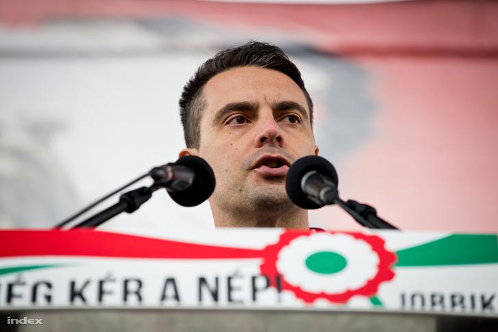 Vona Gábor ünnepi beszéde 2017. március 15-én, a Március 15. téren tartott rendezvényen