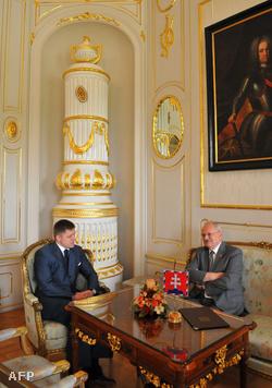 Robert Fico és Ivan Gasparovic