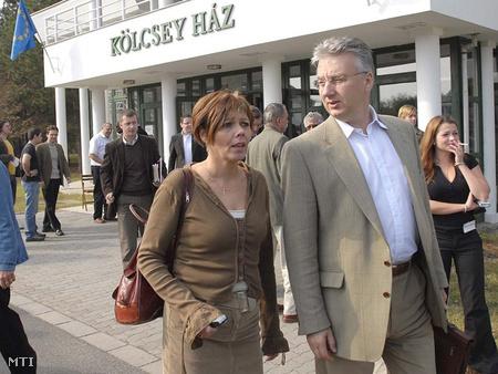 Halász Zsuzsa és Semjén Zsolt 2006-ban