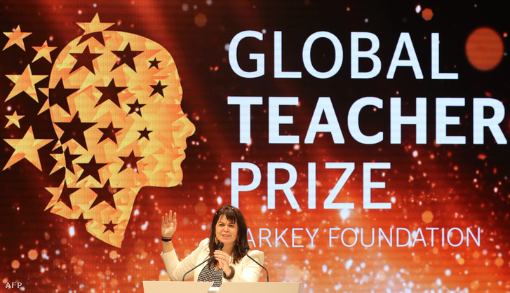 Maggie MacDonnell az év pedagógusa